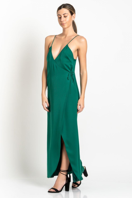 Midaxi Dress green