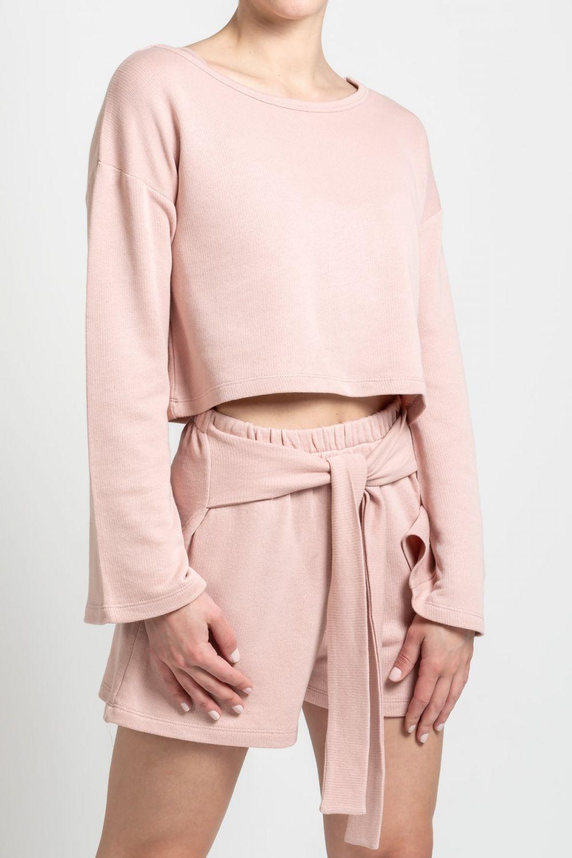 Sweatshirt baby pink
