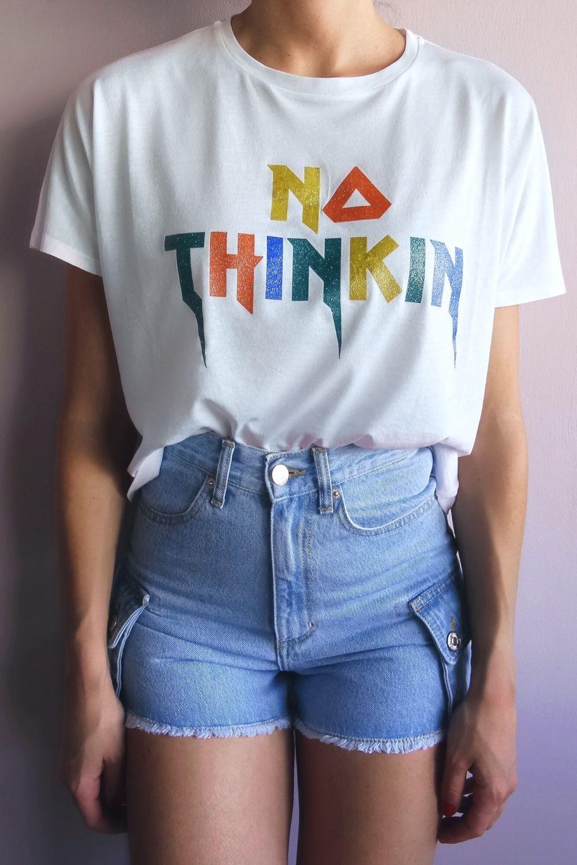 No Thinkin logo τοπάκι