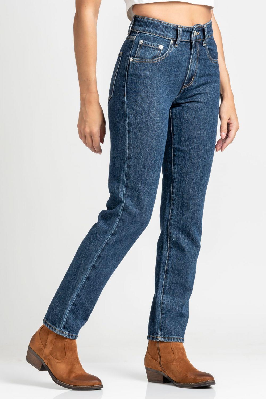 Isabella Basic jeans dark blue