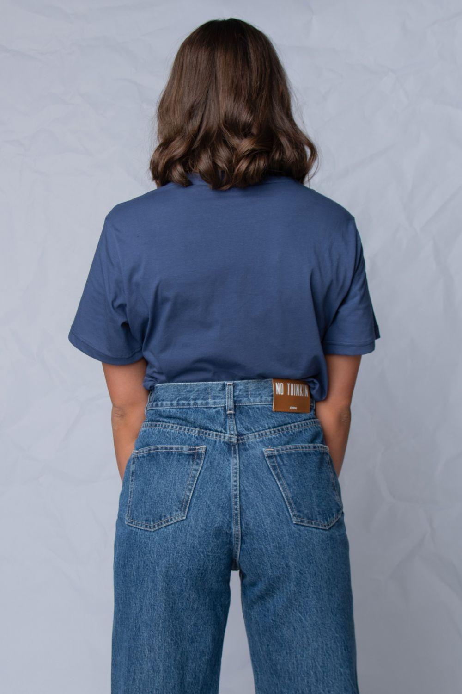 The authentic μπλουζάκι μπλε