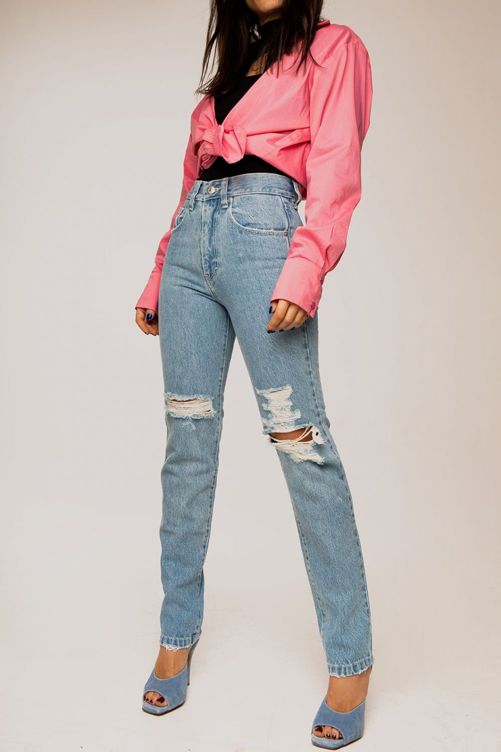 U CAN'T TOUCH THIS jeans medium light blue