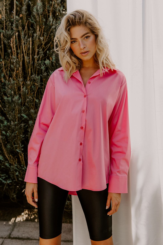 Whitney Houston ροζ πουκάμισο