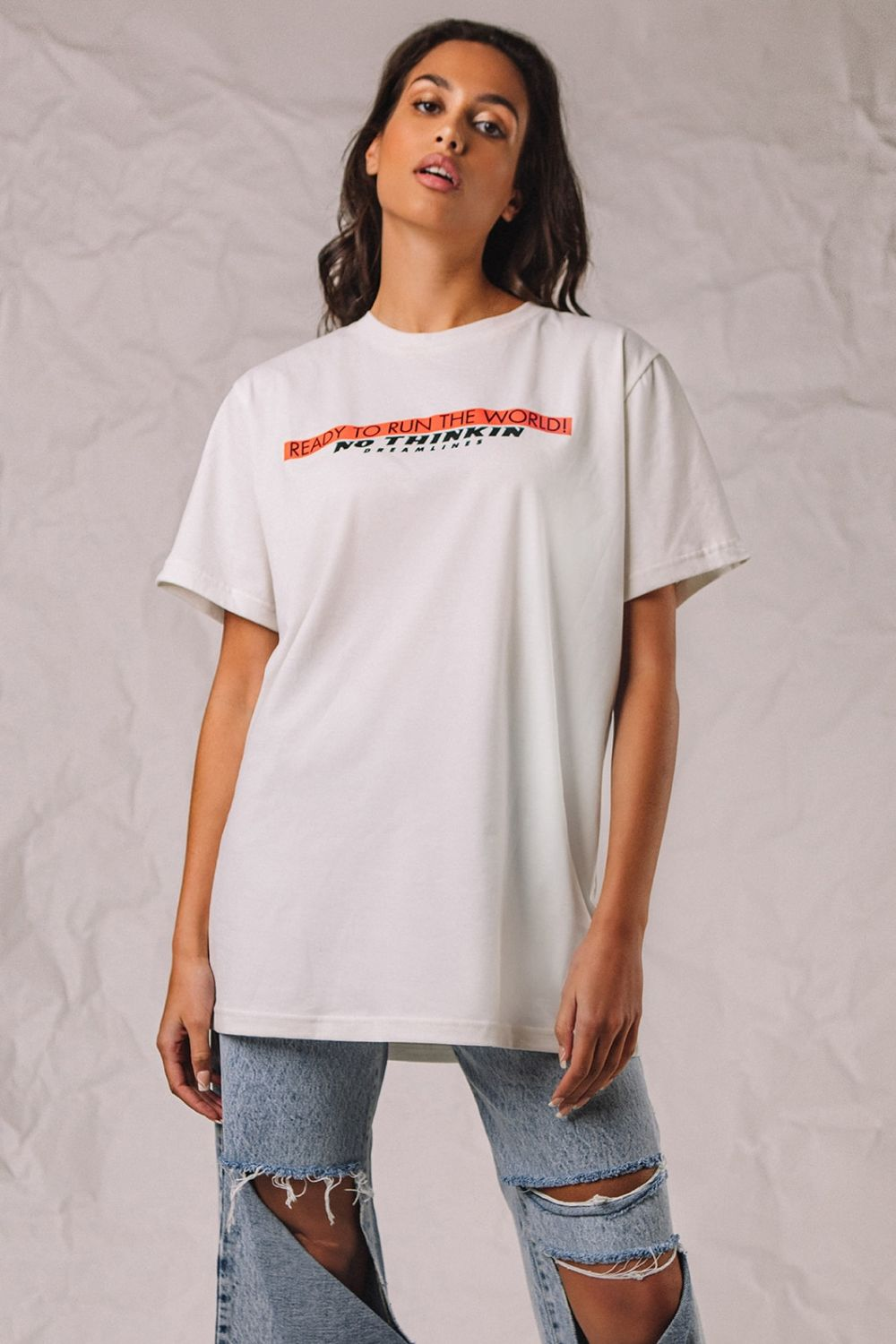 The Authentic Dreamlines white top