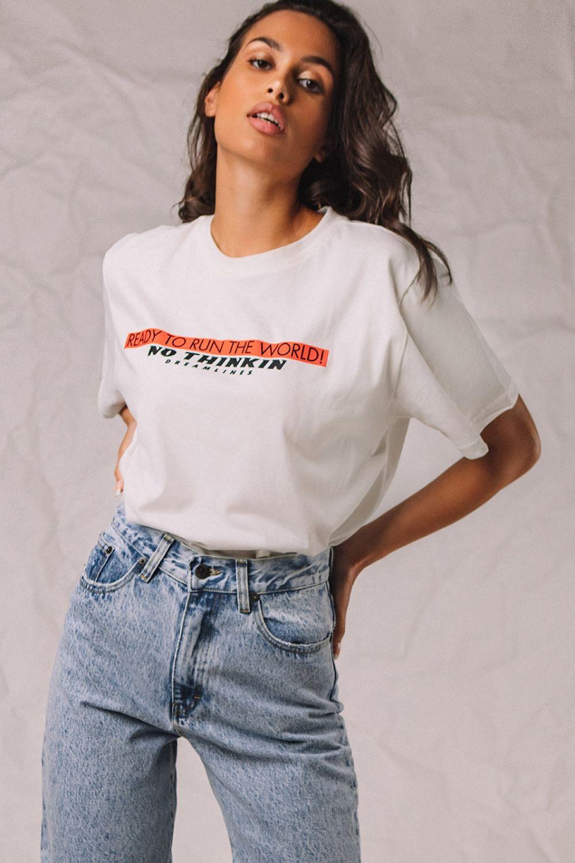 The Authentic Dreamlines μπλουζάκι λευκό