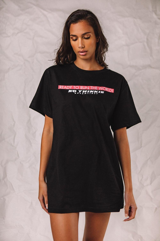 The Authentic Dreamlines μπλουζάκι μαύρο