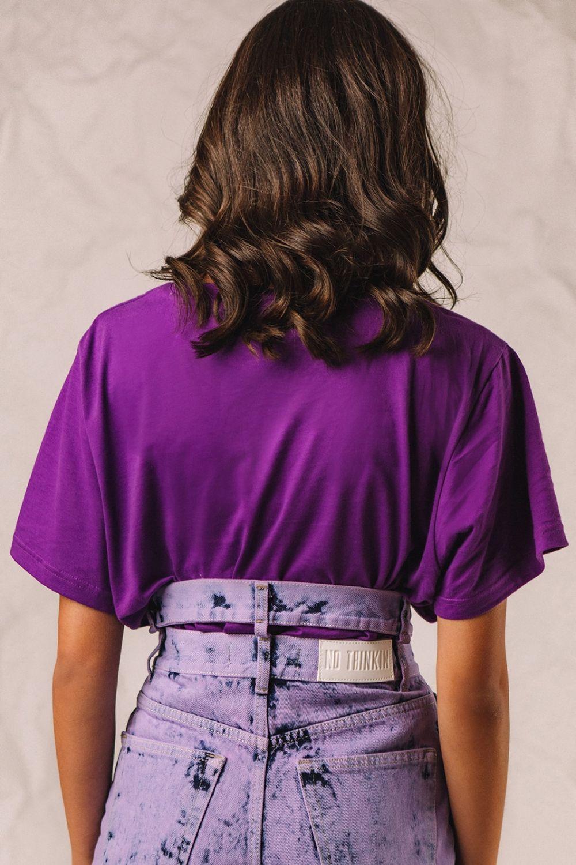 The Authentic μπλουζάκι μωβ