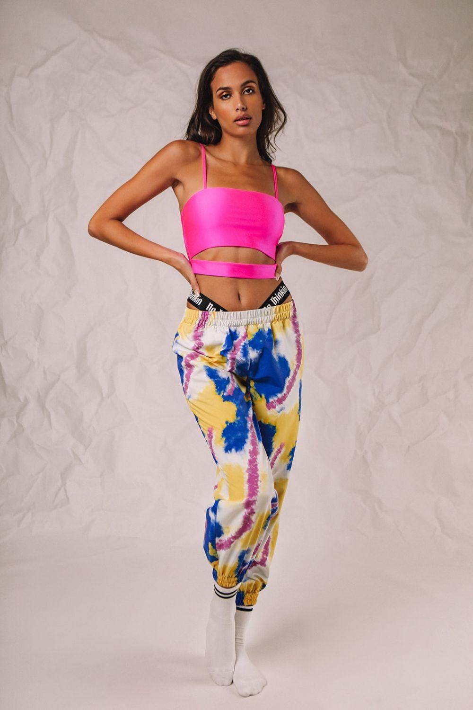 Rihanna φόρμα tie dye