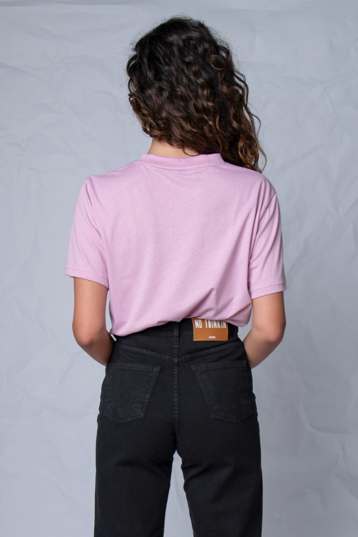 The authentic μπλουζάκι ροζ