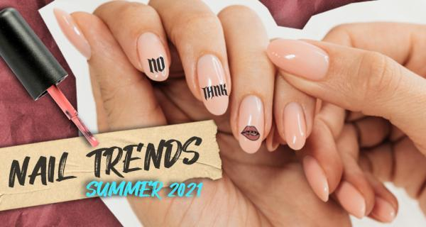 The one with the hottest summer nail trends