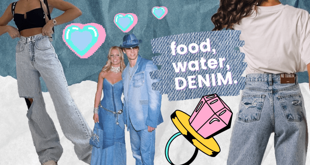 The one about denim trends Spring 2021