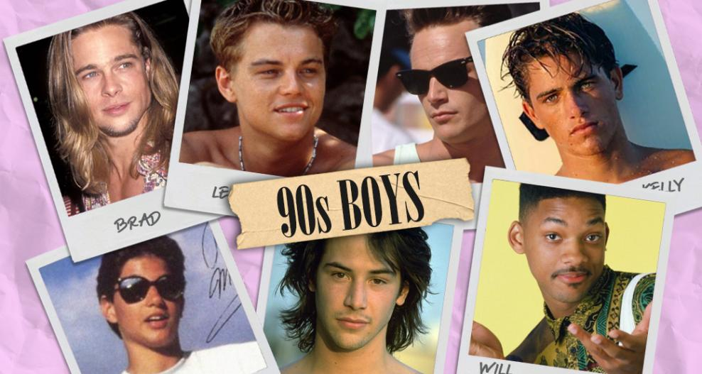 The one with the hottest 90's boys