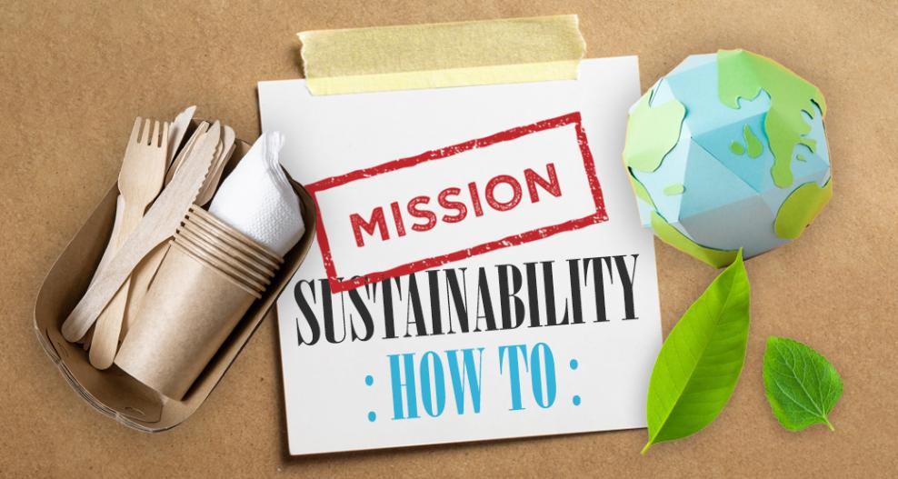 The One About 7+1 Tips for A Sustainable Living