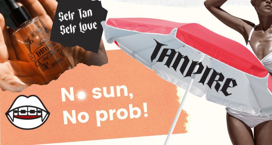 The one about Tanpire self tan serum