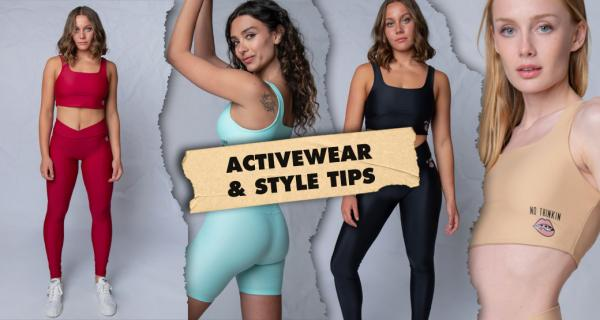 The one with the new sustainable activewear collection! Bonus tips on how to wear our favorite items for super stylish Fall looks